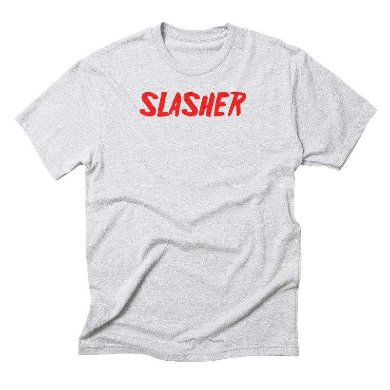 Slasher in Men's Triblend T-Shirt Heather White by See Monsters's Artist Shop