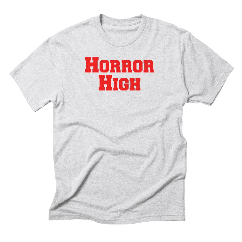 Horror High in Men's Triblend T-Shirt Heather White by See Monsters's Artist Shop
