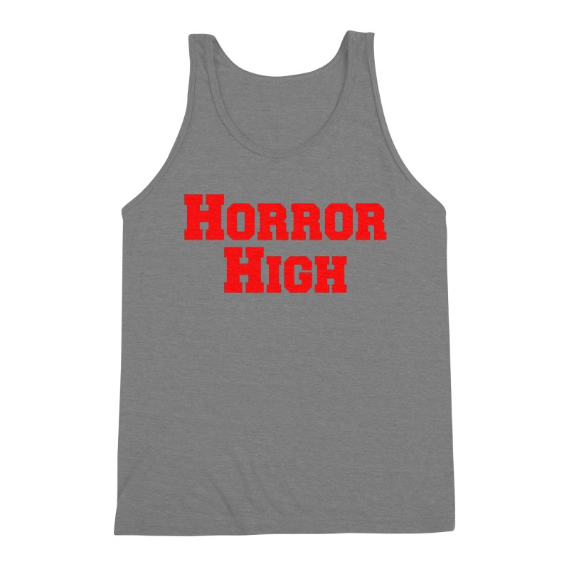 Horror High Men's Triblend Tank by See Monsters's Artist Shop