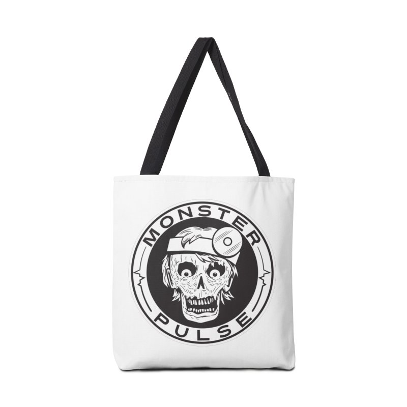 Monster Pulse Accessories Tote Bag Bag by See Monsters's Artist Shop