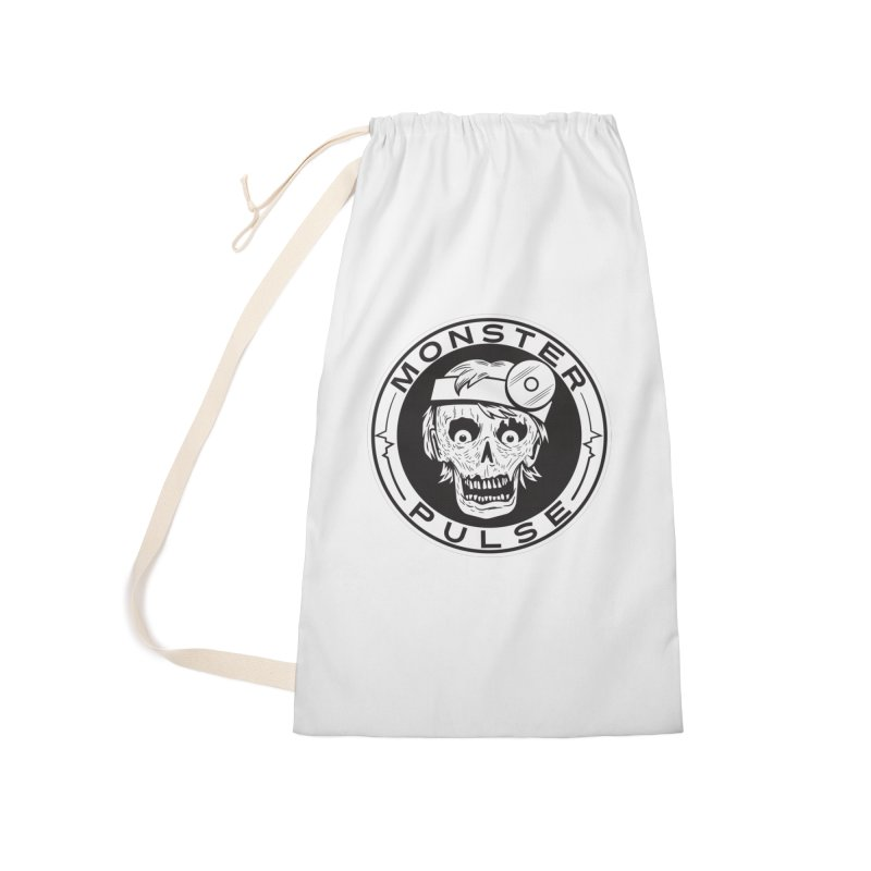 Monster Pulse Accessories Laundry Bag Bag by See Monsters's Artist Shop