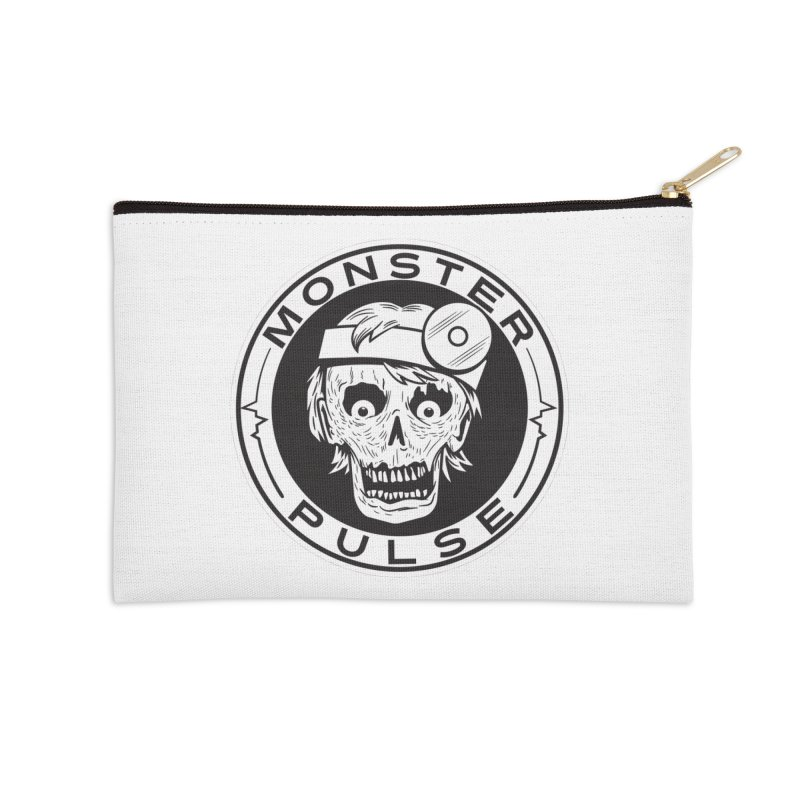 Monster Pulse Accessories Zip Pouch by See Monsters's Artist Shop