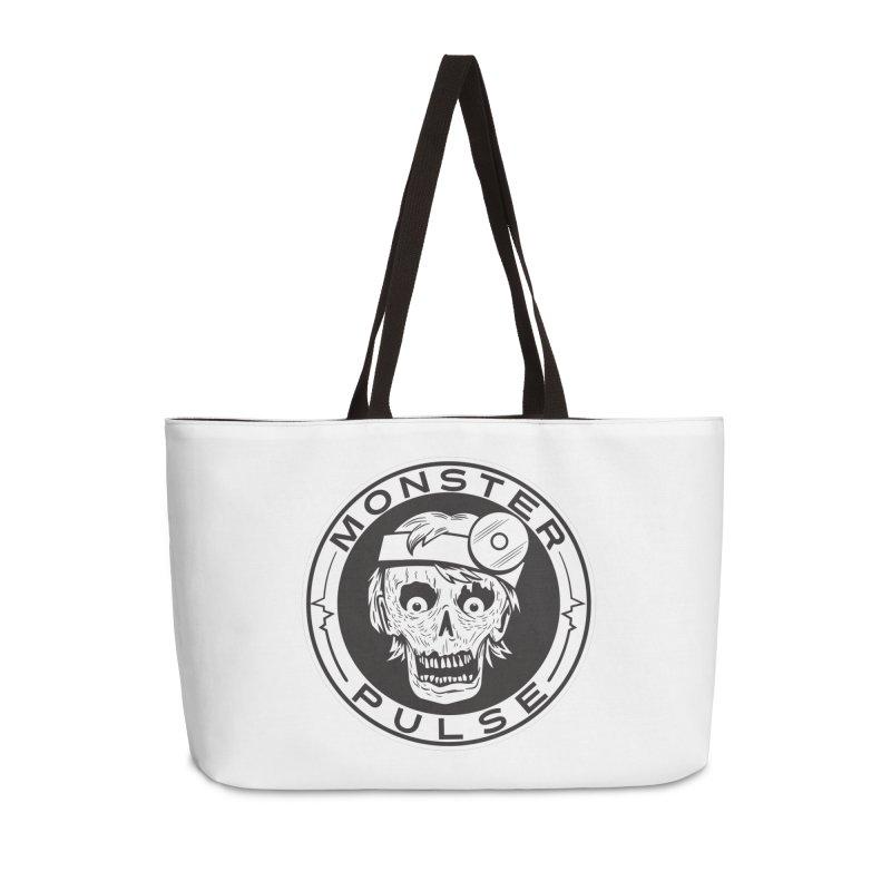 Monster Pulse Accessories Weekender Bag Bag by See Monsters's Artist Shop