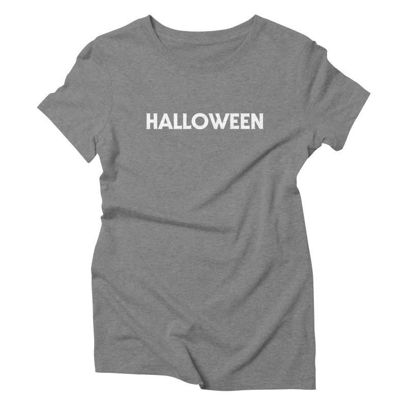 Halloween Women's Triblend T-Shirt by See Monsters's Artist Shop