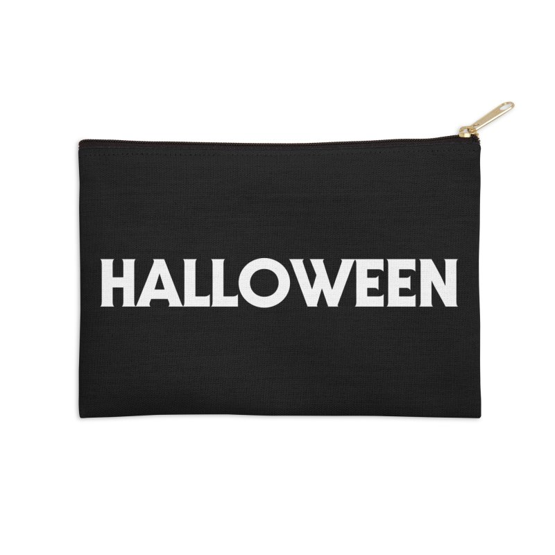 Halloween Accessories Zip Pouch by See Monsters's Artist Shop