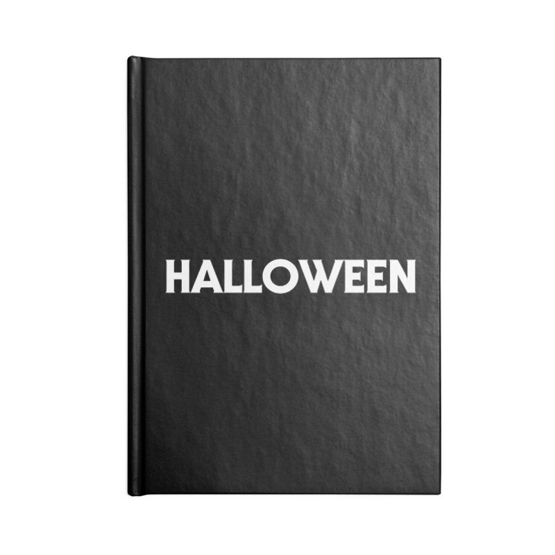 Halloween Accessories Lined Journal Notebook by See Monsters's Artist Shop