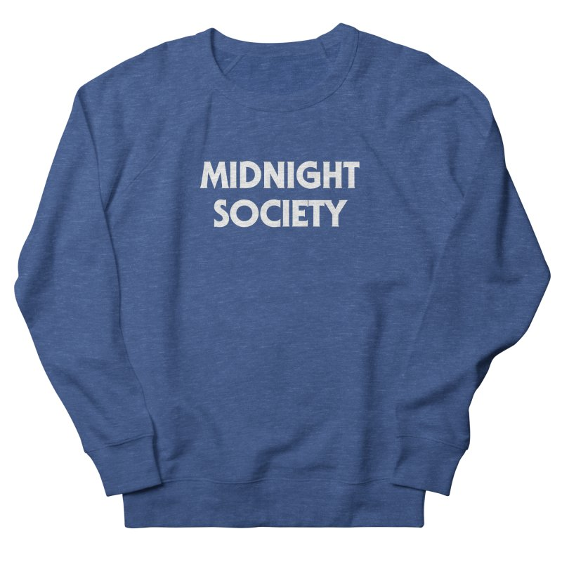 Midnight Society Men's French Terry Sweatshirt by See Monsters's Artist Shop