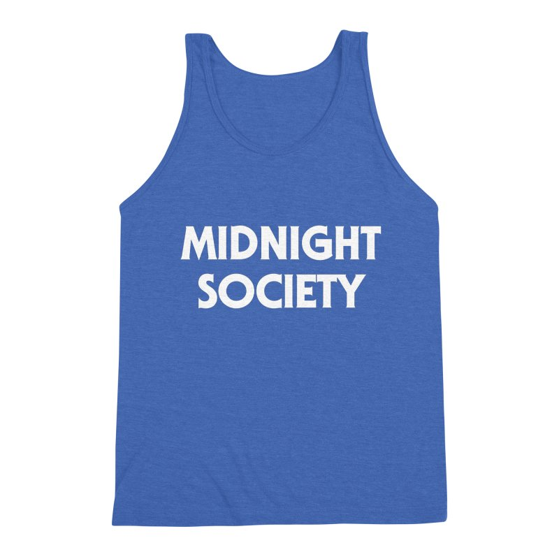 Midnight Society Men's Triblend Tank by See Monsters's Artist Shop