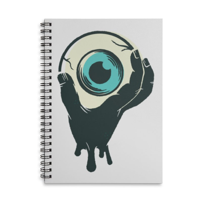 The Eye Accessories Lined Spiral Notebook by See Monsters's Artist Shop