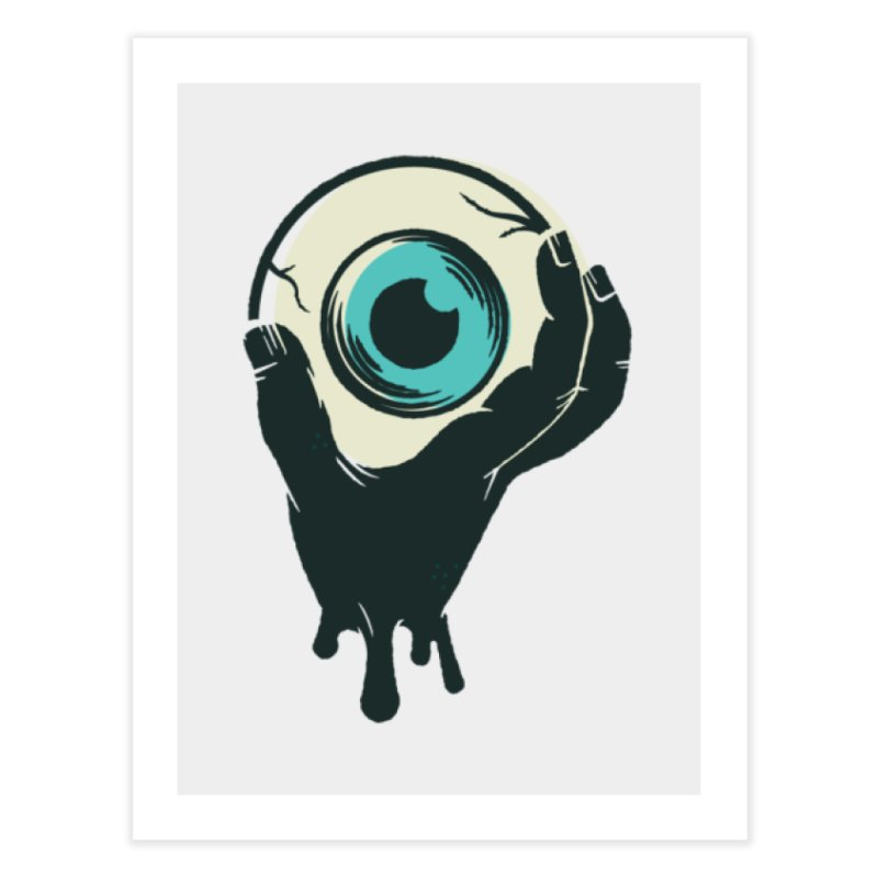 The Eye Home Fine Art Print by See Monsters's Artist Shop
