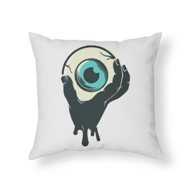 The Eye Home Throw Pillow by See Monsters's Artist Shop