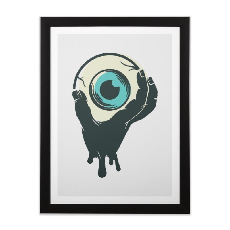 The Eye Home Framed Fine Art Print by See Monsters's Artist Shop