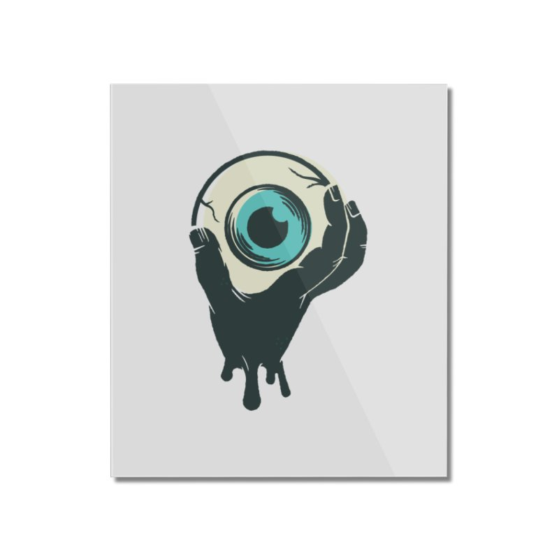 The Eye Home Mounted Acrylic Print by See Monsters's Artist Shop