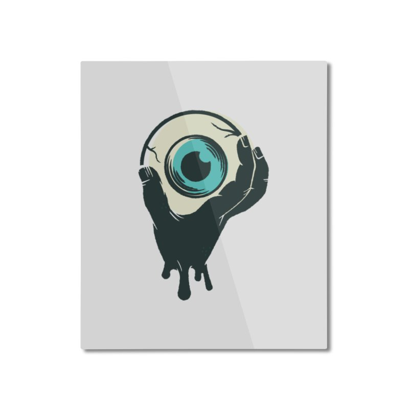 The Eye Home Mounted Aluminum Print by See Monsters's Artist Shop