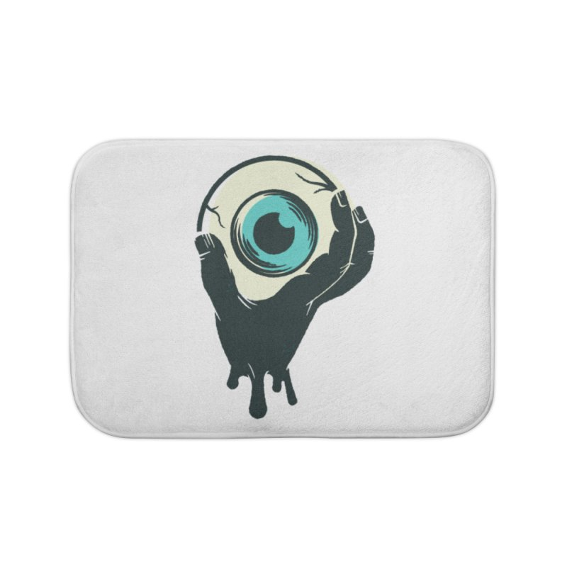 The Eye Home Bath Mat by See Monsters's Artist Shop