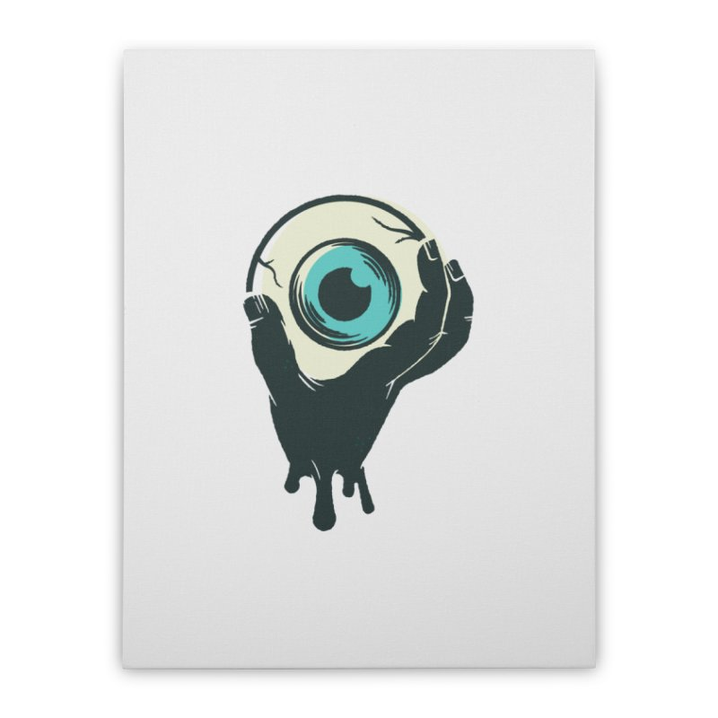 The Eye Home Stretched Canvas by See Monsters's Artist Shop