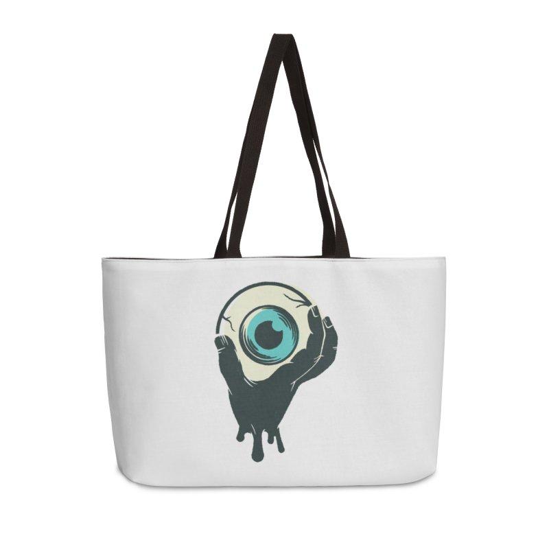 The Eye Accessories Weekender Bag Bag by See Monsters's Artist Shop