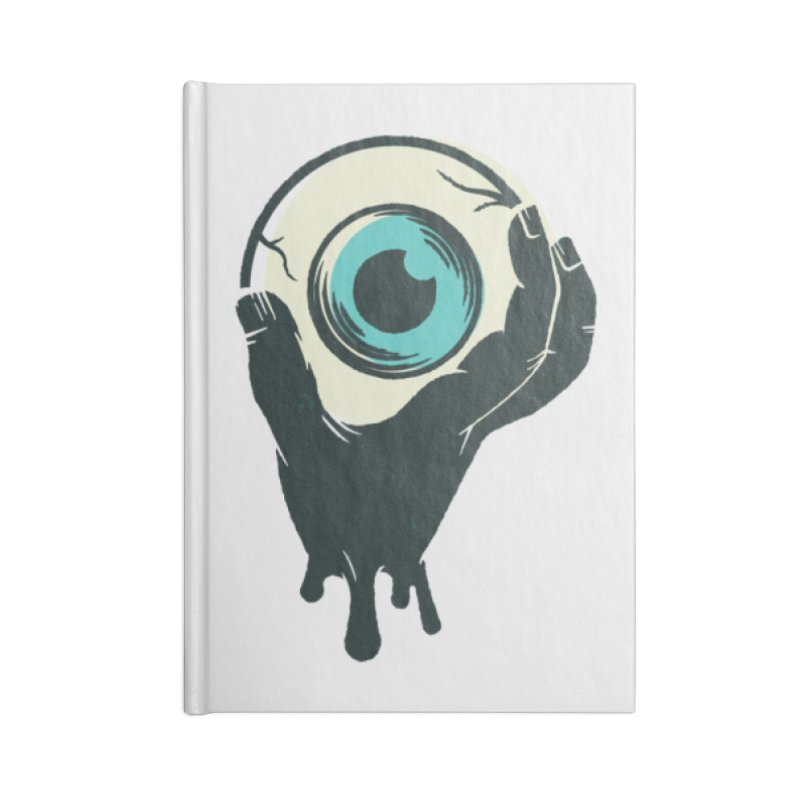 The Eye Accessories Lined Journal Notebook by See Monsters's Artist Shop