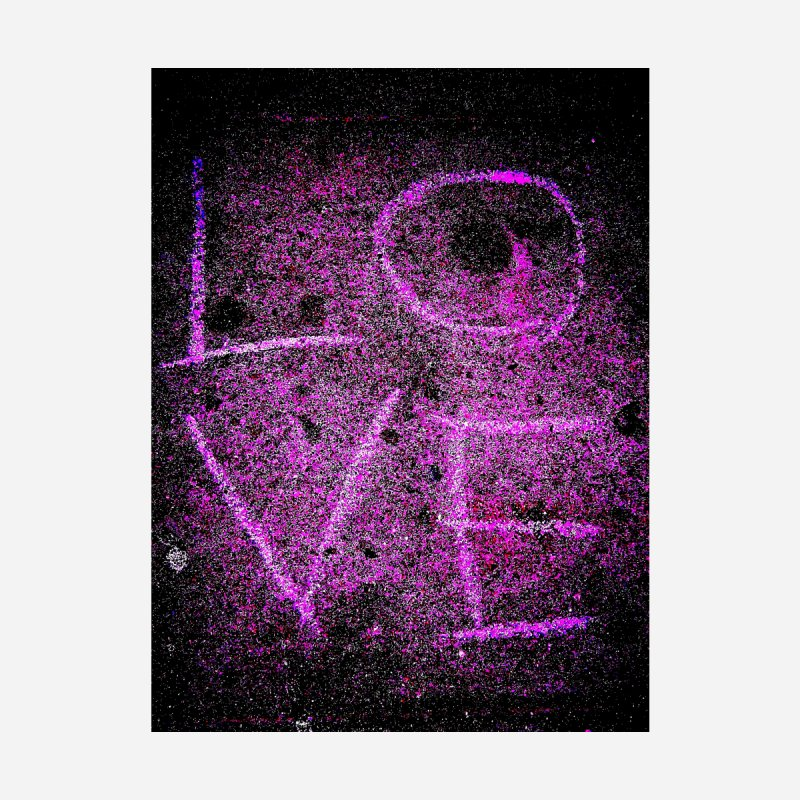 PUNK ROCK LOVE (Aka: URBAN LOVE) Kids Pullover Hoody by MEDIUM Artist Shop