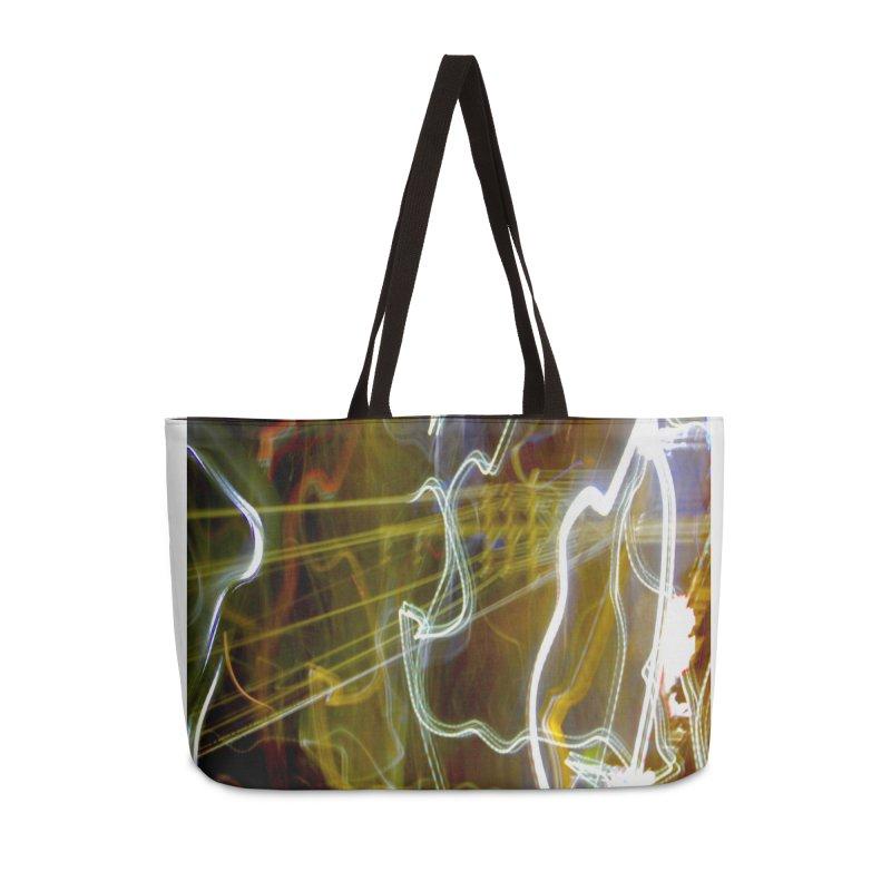 Dancing Power Spirits (color) Accessories Bag by MEDIUM Artist Shop