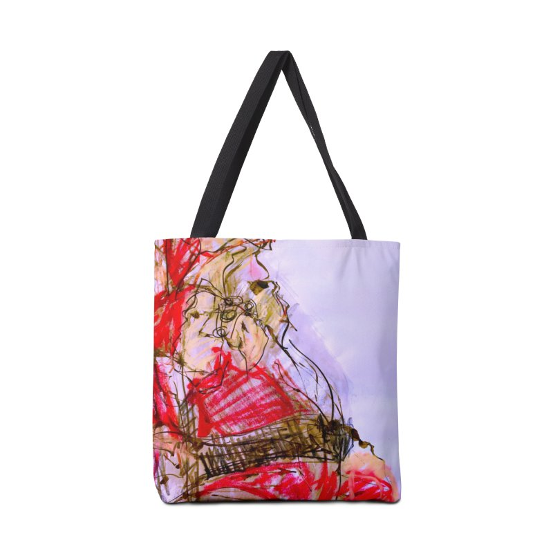 Knock Yourself Out Santa! Accessories Bag by MEDIUM Artist Shop