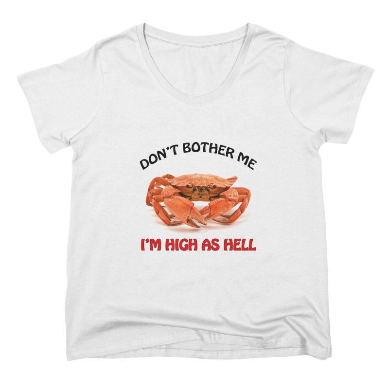 DON'T BOTHER ME Ladies' Scoop Neck by SEIBEI: 2005 - 2021