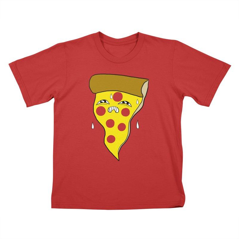PIZZA SWEATZ Kids T-Shirt by SEIBEI: 2005 - 2021