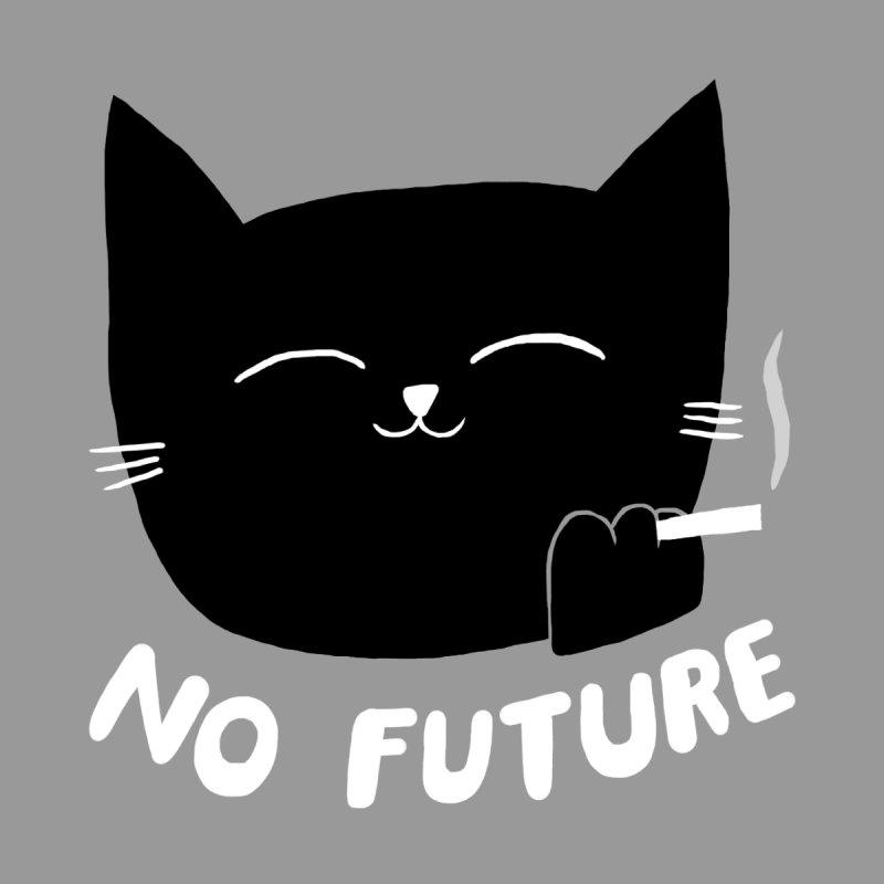 NO FUTURE - BLACK CAT Unisex T-Shirt by SEIBEI: 2005 - 2021