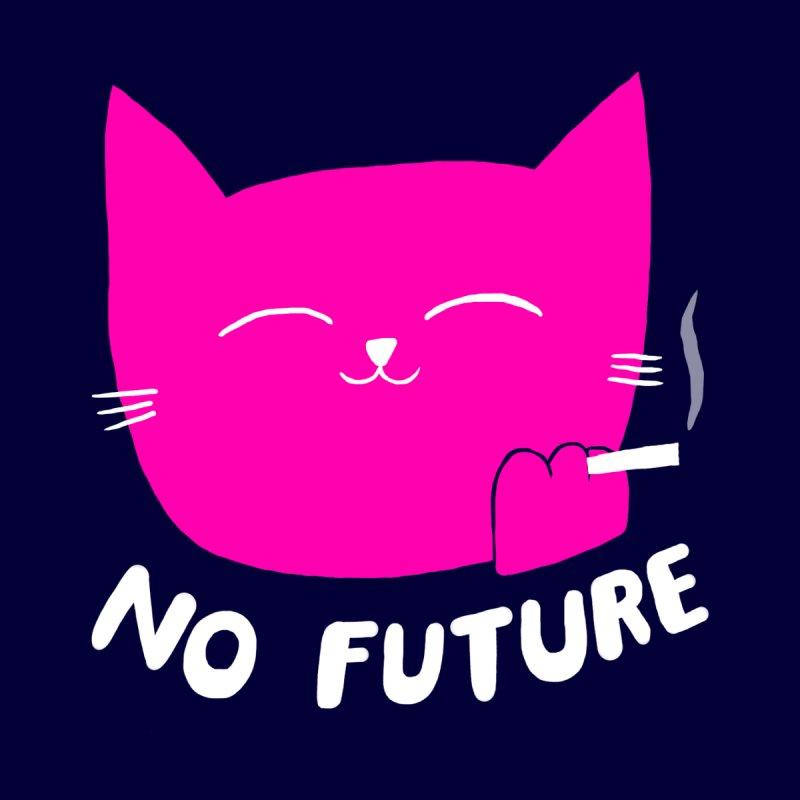 NO FUTURE - PINK CAT Unisex T-Shirt by SEIBEI: 2005 - 2021