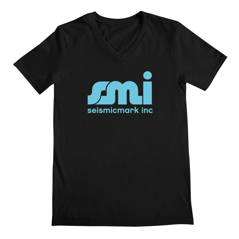 Seismicmark Inc Men's V-Neck by Seismicmark