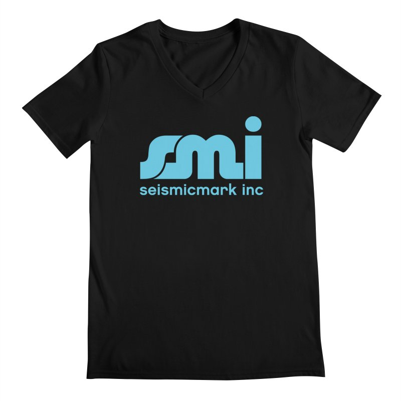 Seismicmark Inc Men's Regular V-Neck by Seismicmark