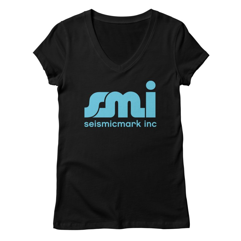 Seismicmark Inc Women's Regular V-Neck by Seismicmark