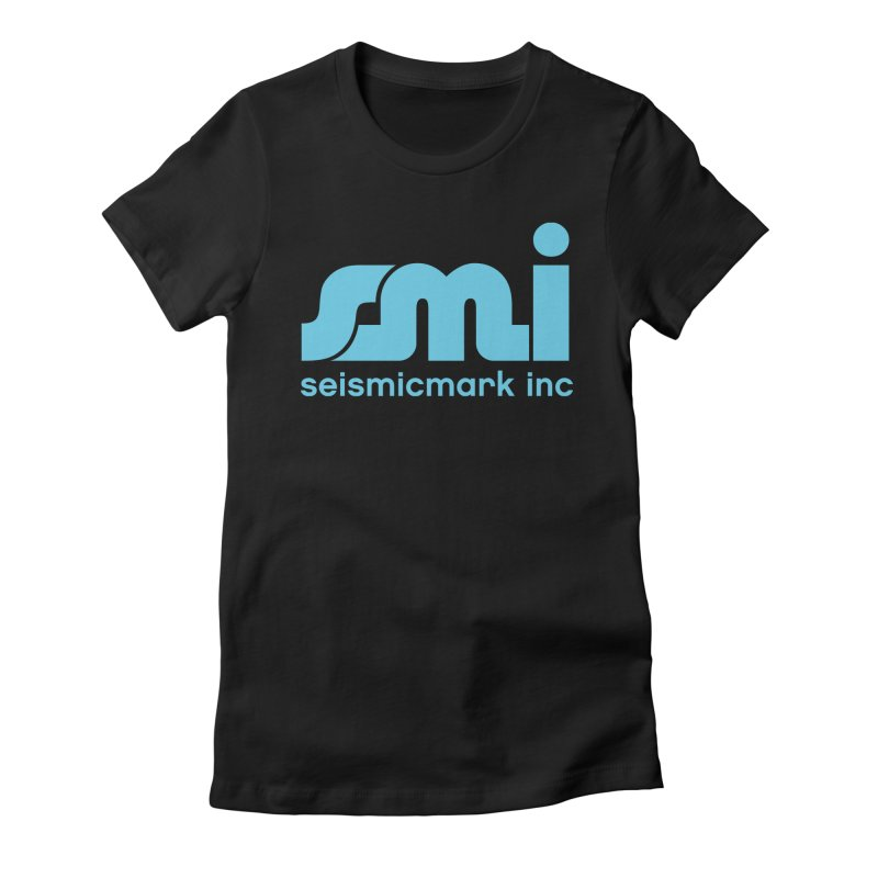 Seismicmark Inc Women's Fitted T-Shirt by Seismicmark