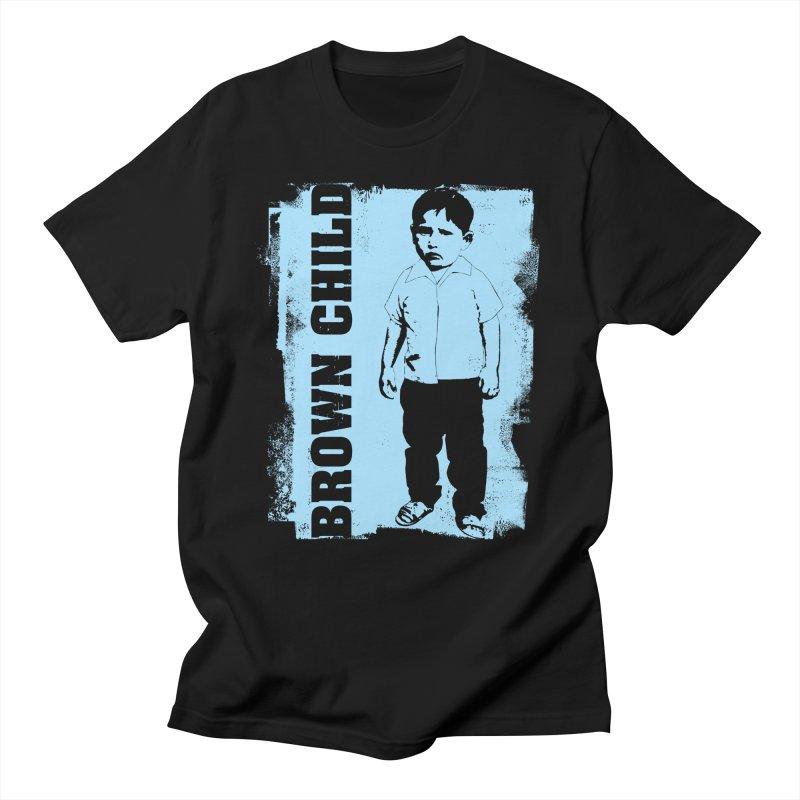 Brown Child Men's Regular T-Shirt by Seismicmark