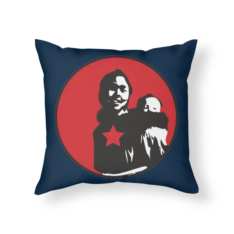 Mother Home Throw Pillow by Seismicmark