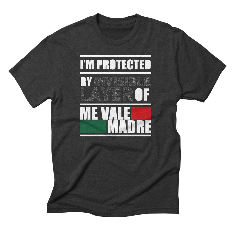Me Vale Men's Triblend T-Shirt by Seismicmark