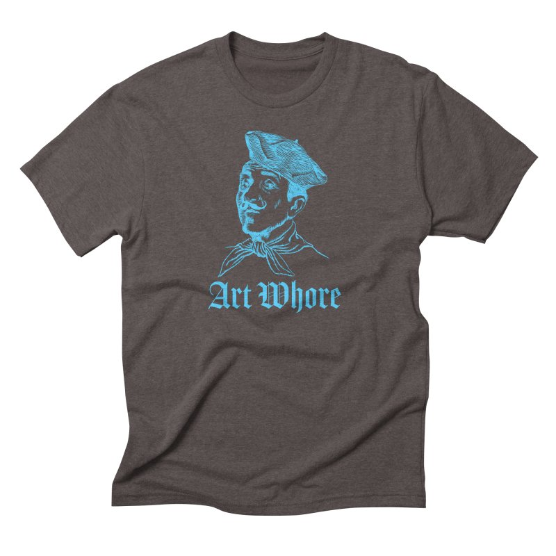 Art Whore Men's Triblend T-Shirt by Seismicmark