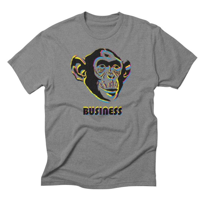 Monkey Business Men's Triblend T-Shirt by Seismicmark