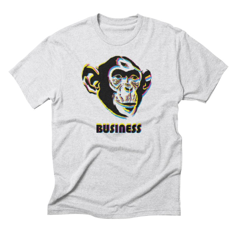 Monkey Business Men's Triblend T-Shirt by Seismicmark