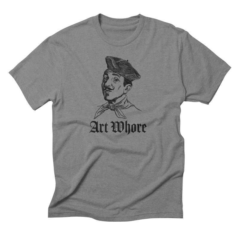 Art Whore II Men's Triblend T-Shirt by Seismicmark