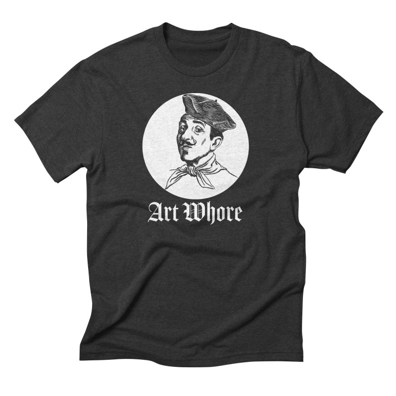 Art Whore III Men's Triblend T-Shirt by Seismicmark