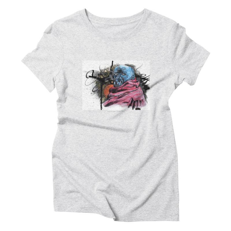 Blueman Women's Triblend T-Shirt by Seismicmark