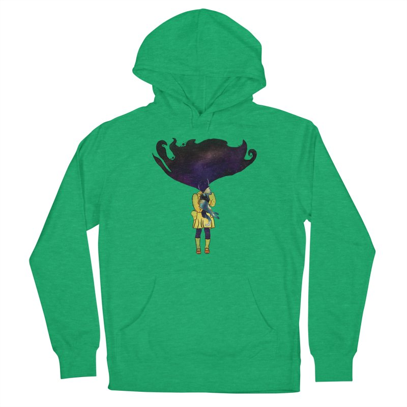 If the Solar System was a Girl Women's Pullover Hoody by selendripity's Artist Shop