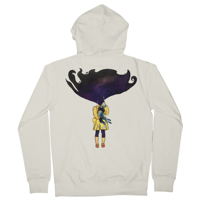 If the Solar System was a Girl Women's Zip-Up Hoody by selendripity's Artist Shop