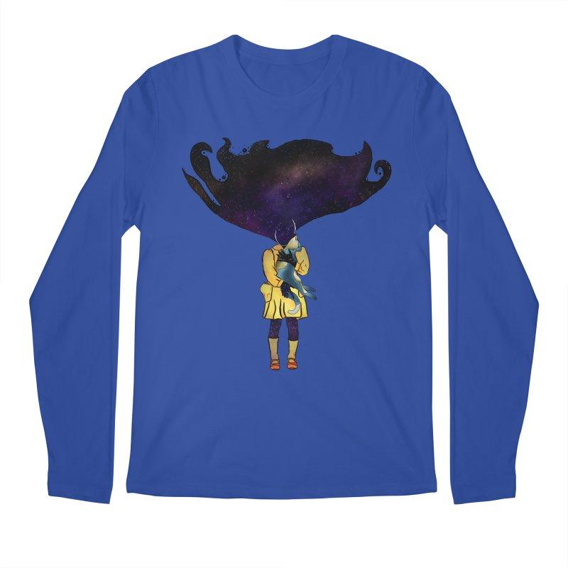 If the Solar System was a Girl Men's Regular Longsleeve T-Shirt by selendripity's Artist Shop