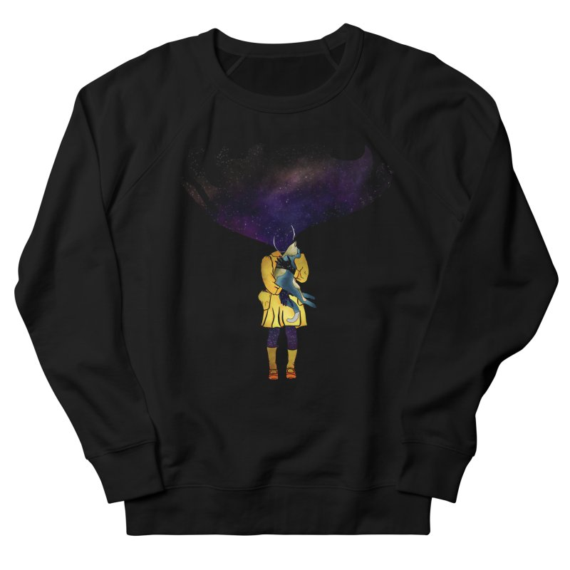 If the Solar System was a Girl Women's French Terry Sweatshirt by selendripity's Artist Shop