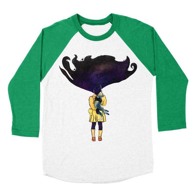 If the Solar System was a Girl Men's Baseball Triblend Longsleeve T-Shirt by selendripity's Artist Shop