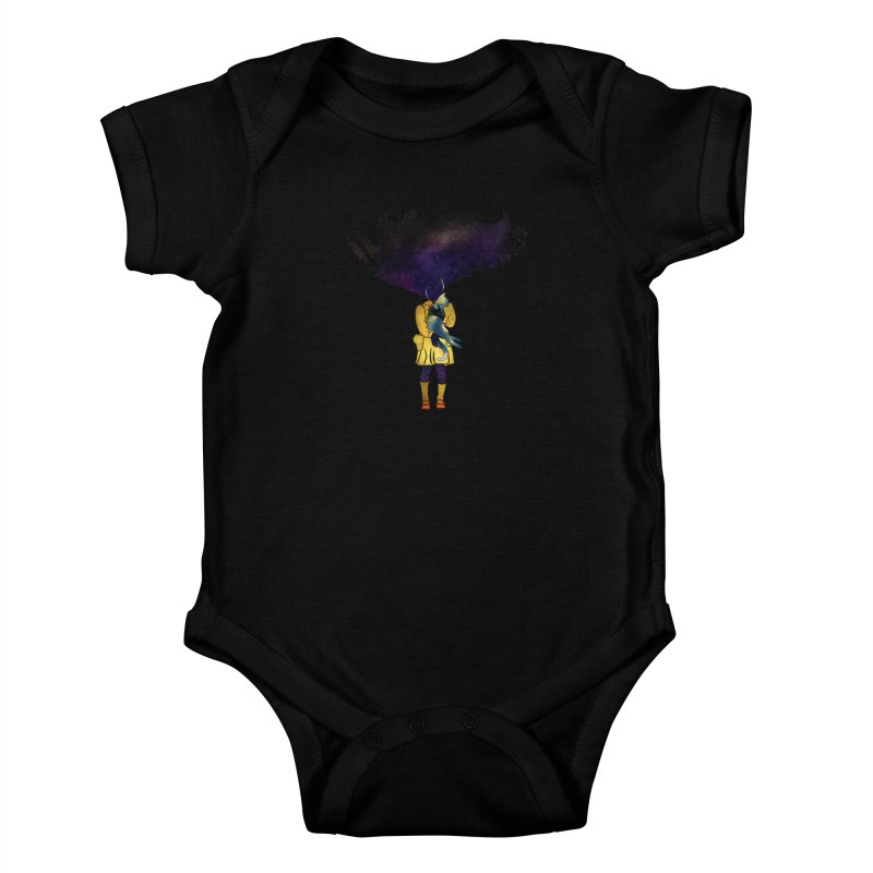 If the Solar System was a Girl Kids Baby Bodysuit by selendripity's Artist Shop