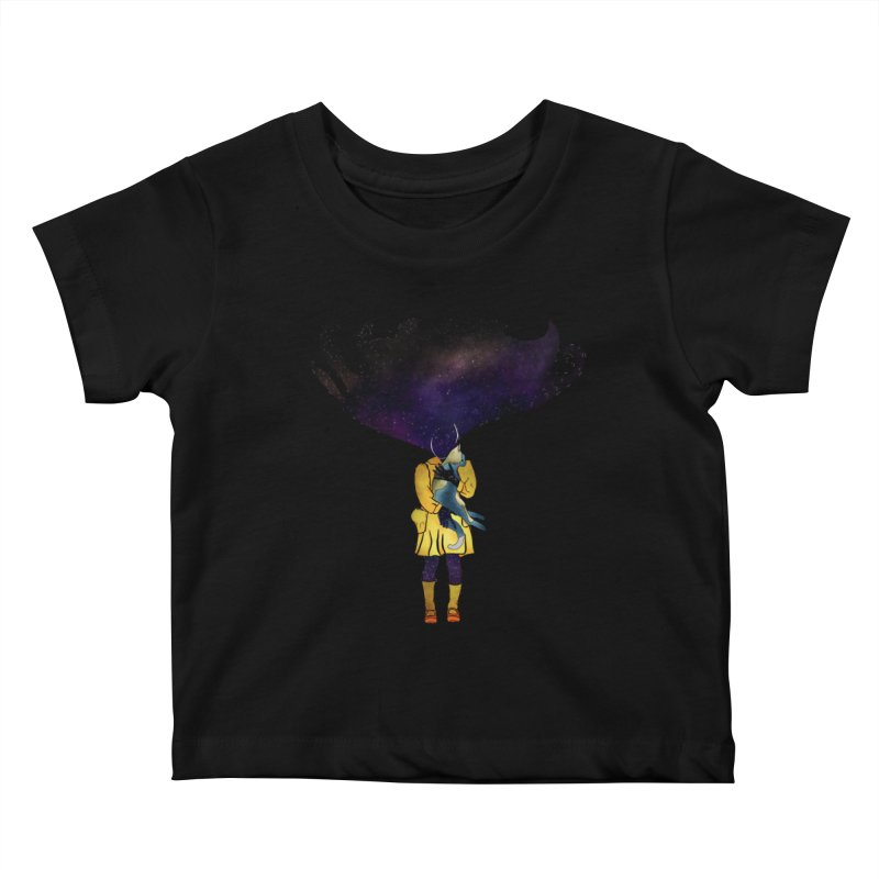 If the Solar System was a Girl Kids Baby T-Shirt by selendripity's Artist Shop