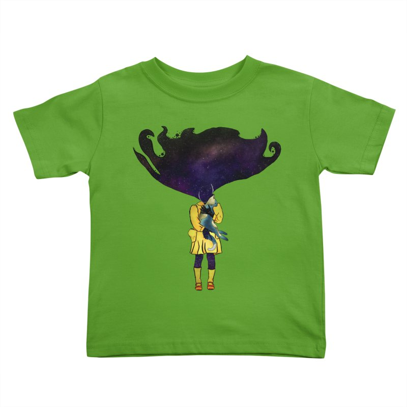 If the Solar System was a Girl Kids Toddler T-Shirt by selendripity's Artist Shop